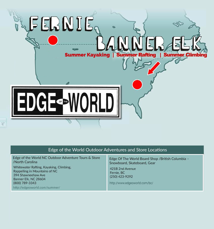 Edge of the World Locations